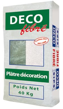 plâtre de décoration